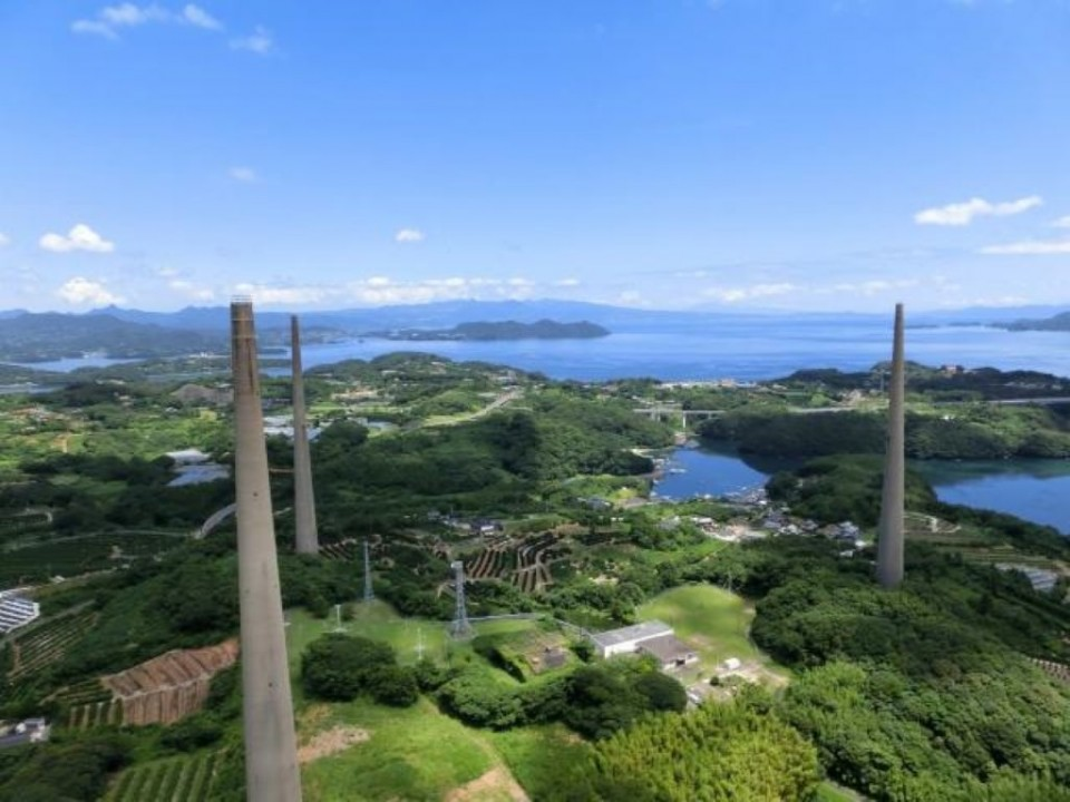Sasebo - Hairo Radio Towers