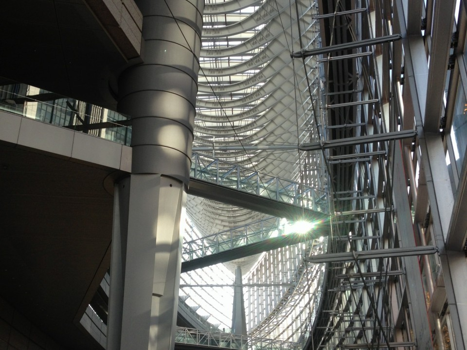 Inside Cocoon Tower