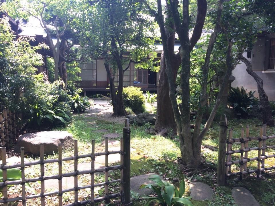 Seikantei's Japanese garden
