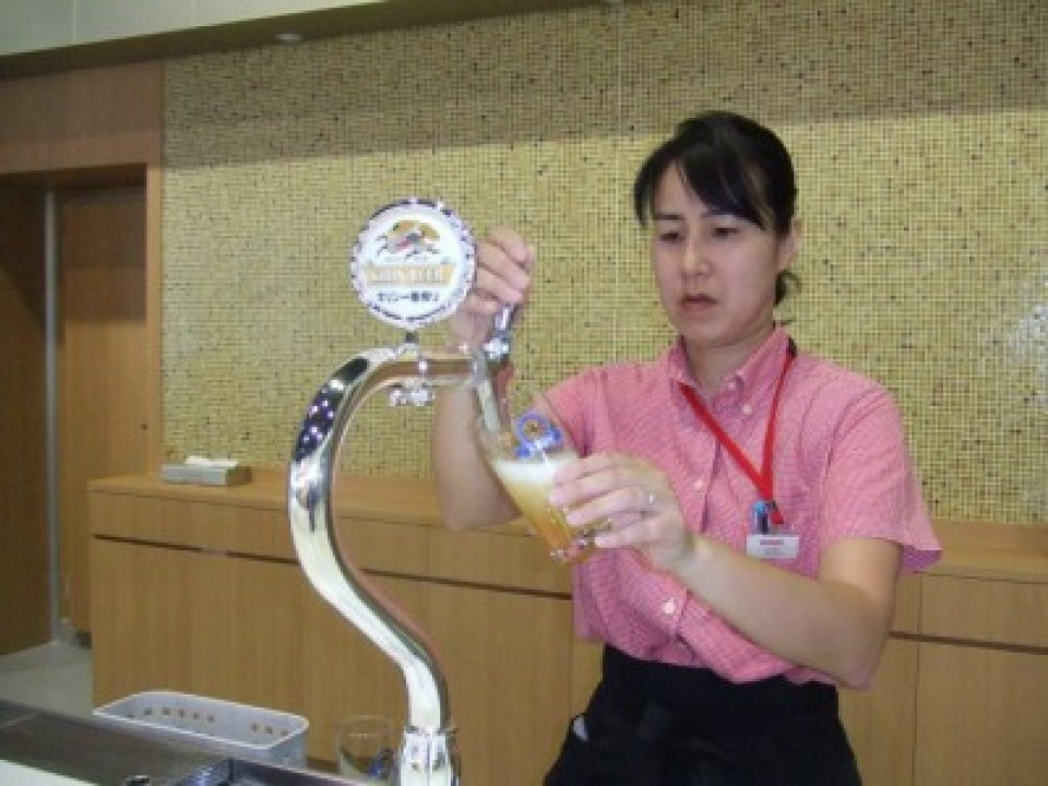 Kirin Ichiban, which has enjoyed firm popularity since its inception in 1990.