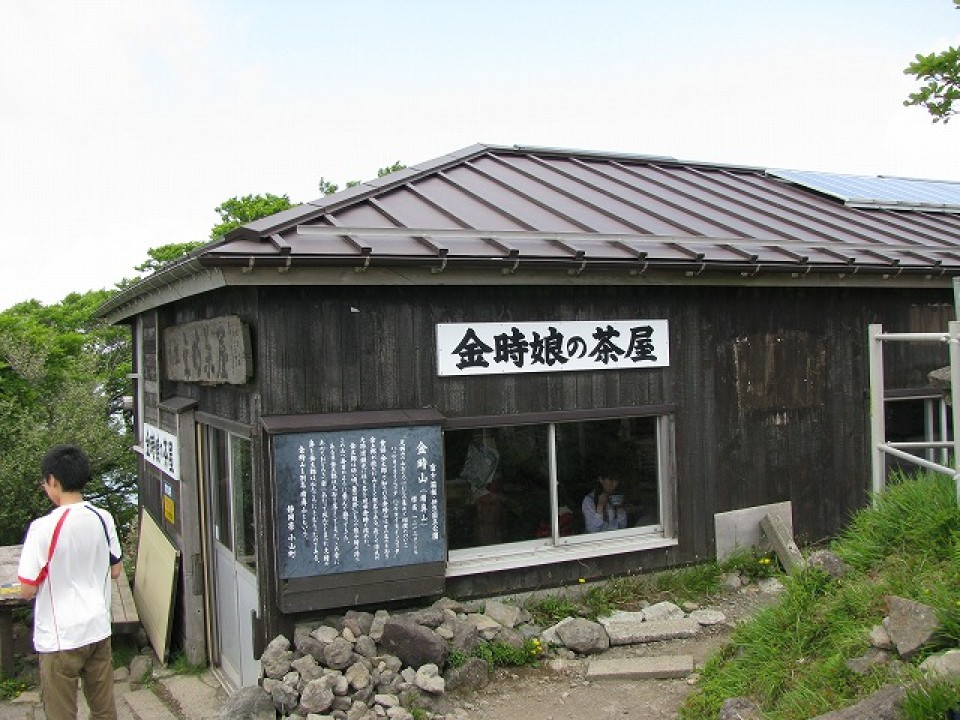 The Top of Kintoki-Yama