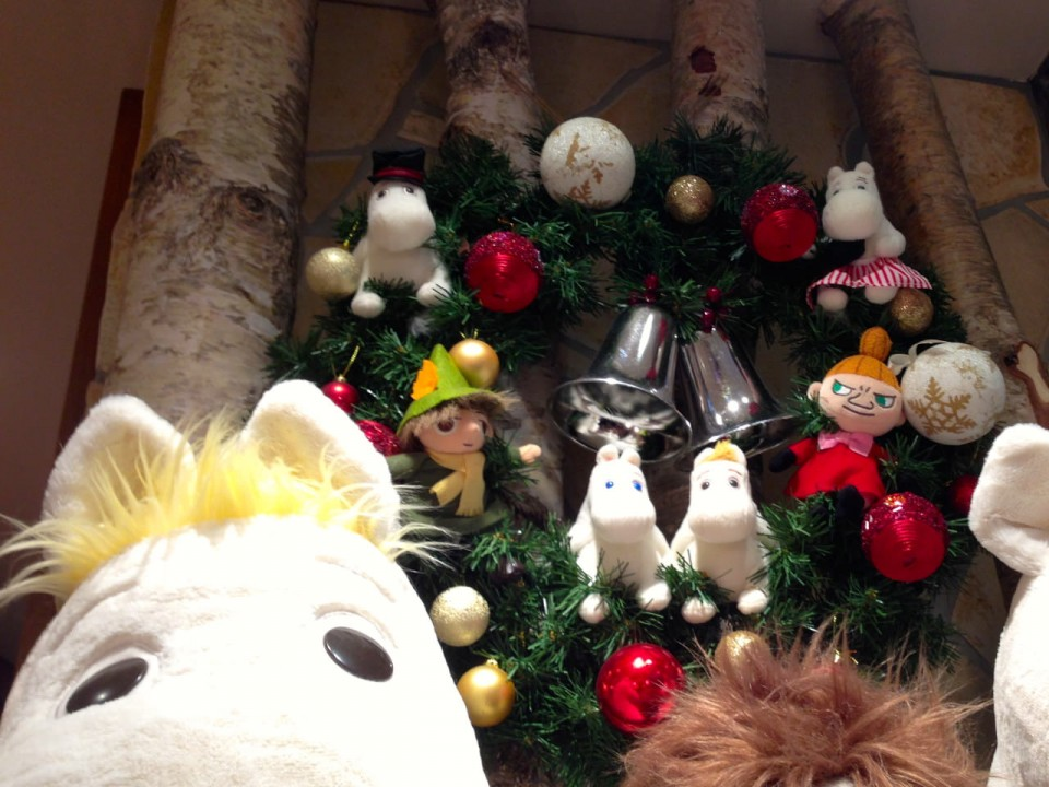 Christmas at Moomin House Cafe