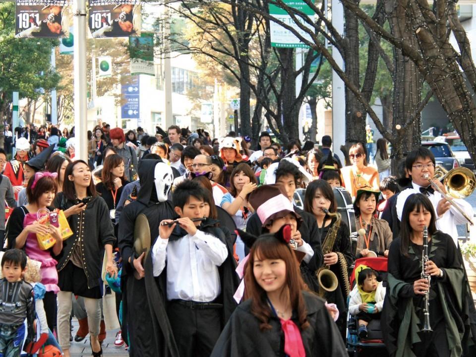 Halloween in Omotesando