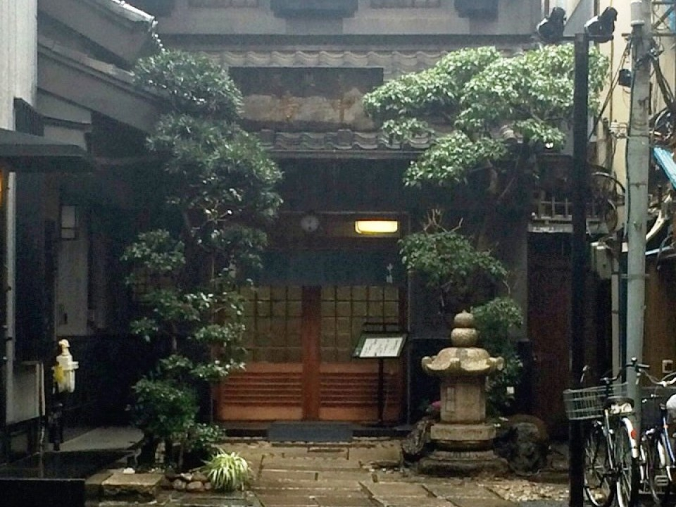 an alley of Nakasei