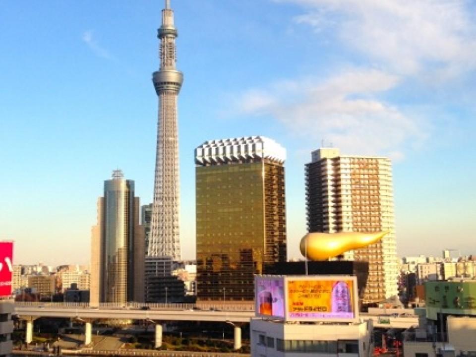 Skytree & Asahi Breweries