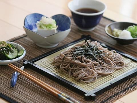 Cold soba noodle images