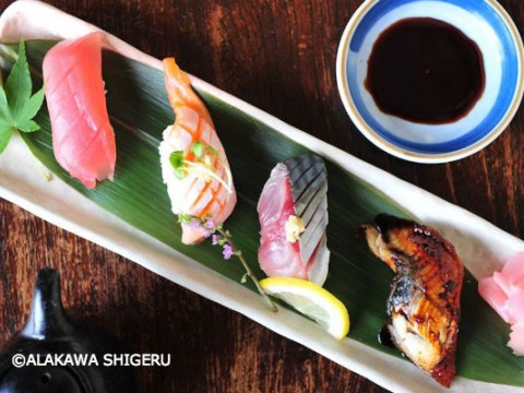 You might want to tell them a list of your favorite sushi fish! images