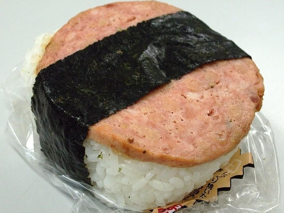 The infamous sausage onigiri