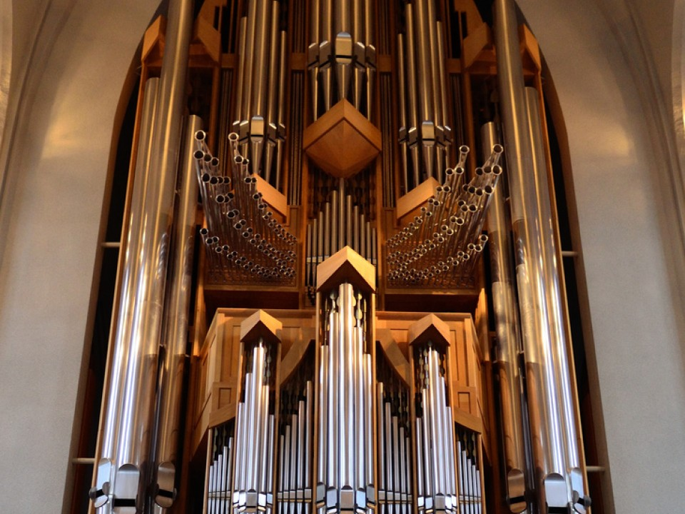 Although not the pipe organ in Minato Mirai Hall, it looks similar to this one!