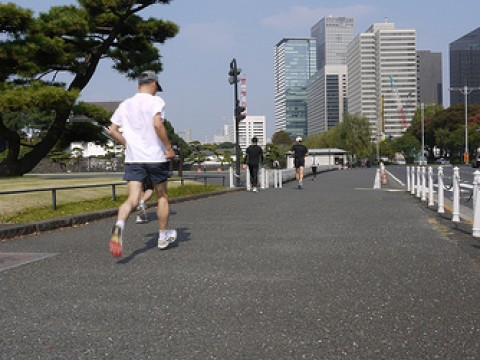 5K Runs Around the Imperial Palace in Japan images