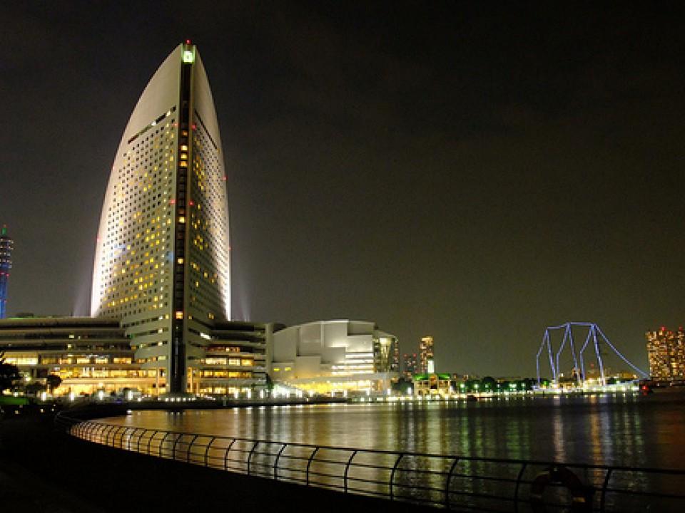 The beautiful intercontinental hotel in Minatomirai, Yokohama!