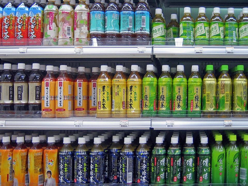 Tea at a convenient store
