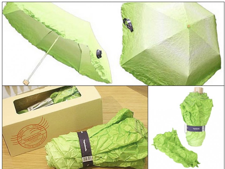 Cute Vegetable Umbrella that would be a nice gift!!