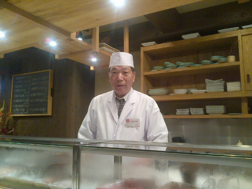 "Say ""Omakase"" and your chef will give you his best of the day"