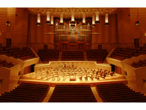 Suntory hall images