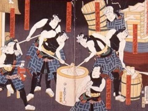 "Where can I participate in a mochi-making ""Mochi-tsuki""event? images"