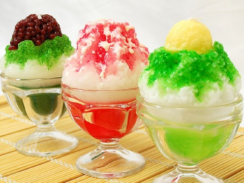 Ice shavings called Kakigori! images