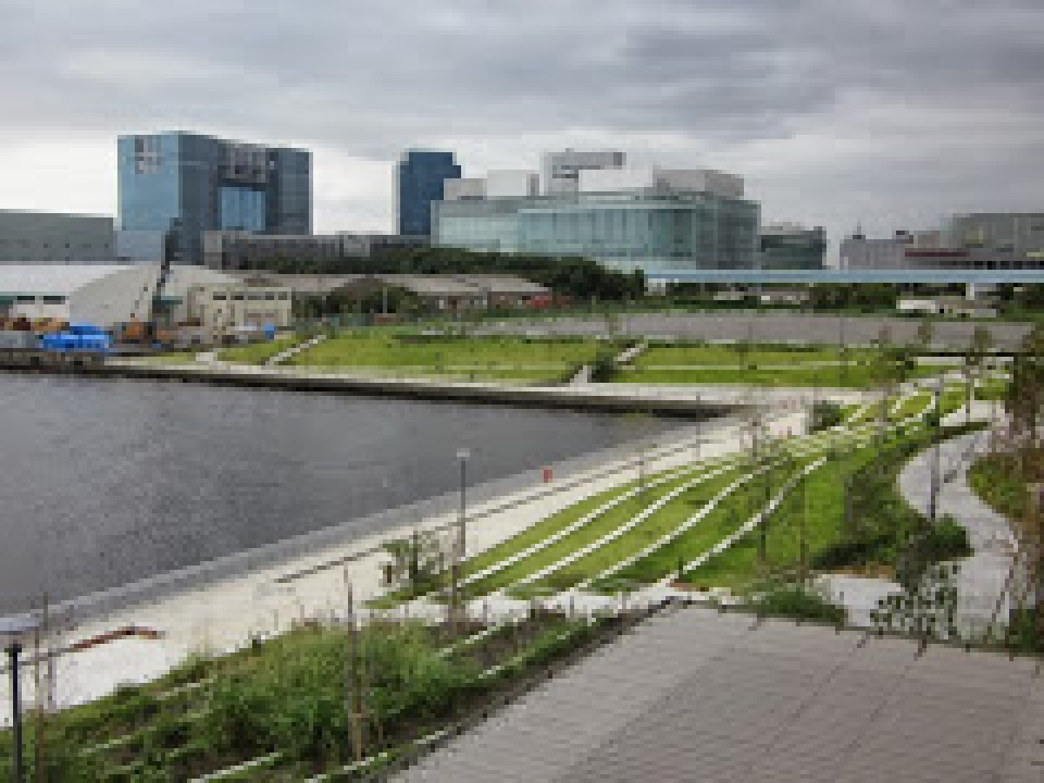 A great view of Odaiba from the blog mentioned