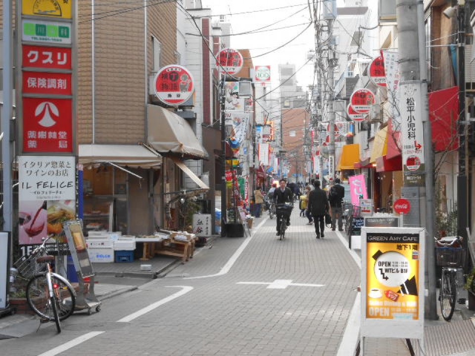 A typical day in Edogawabashi