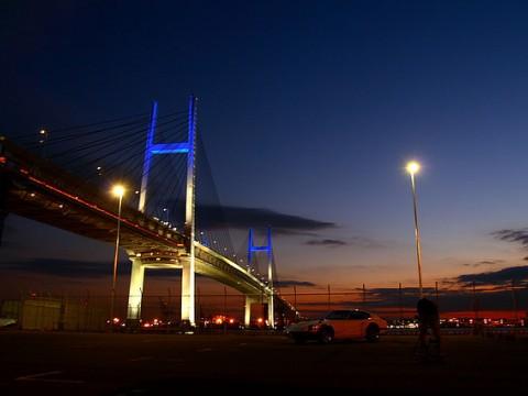 Romantic Night Drive to Yokohama, Japan images