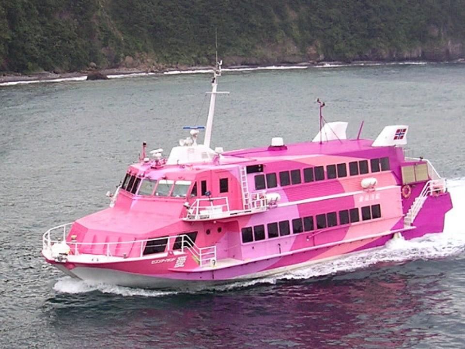 Hydrofoil to Niijima