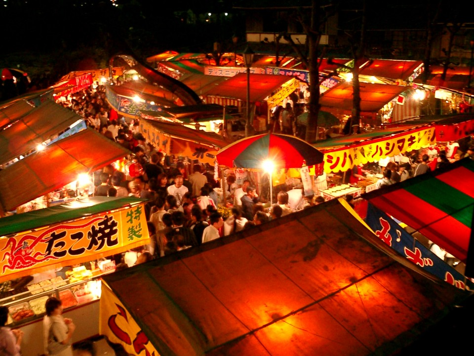 What a yatai area may look like
