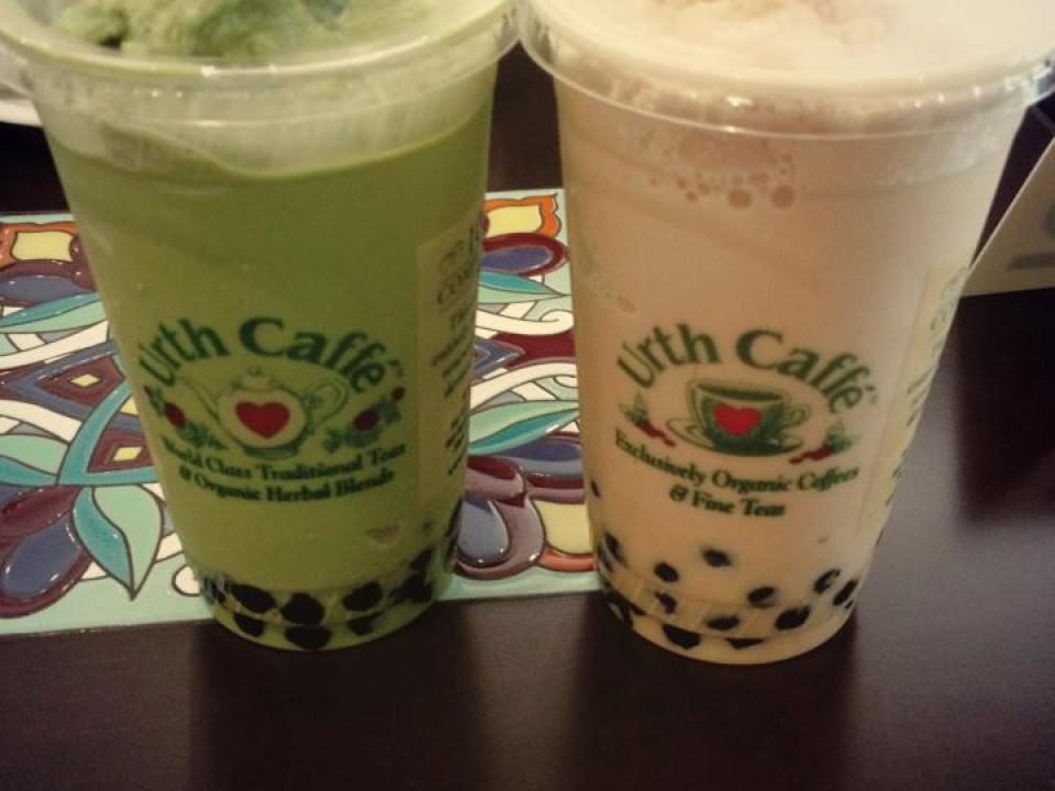 Urth Caffe's Boba Teas!