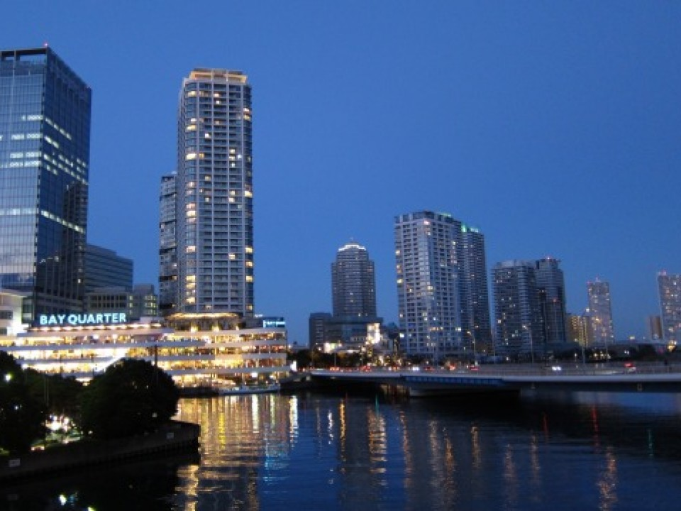 A beautiful view of Minatomirai