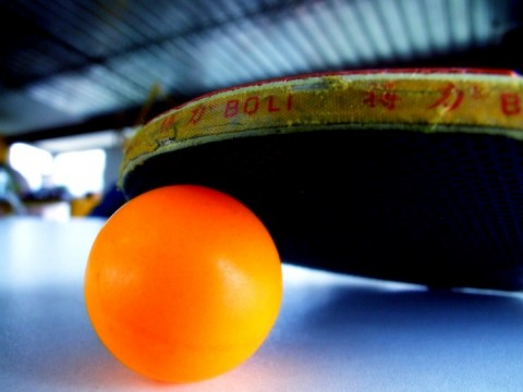 Community centers have free ping pong facilities! images