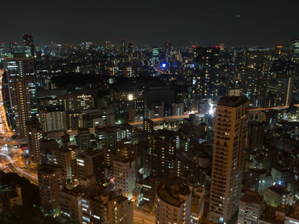 Night View from Tokyo Tower