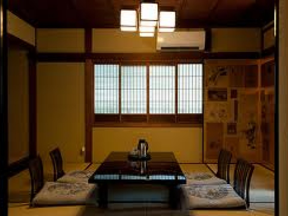 A Typical Ryokan Room