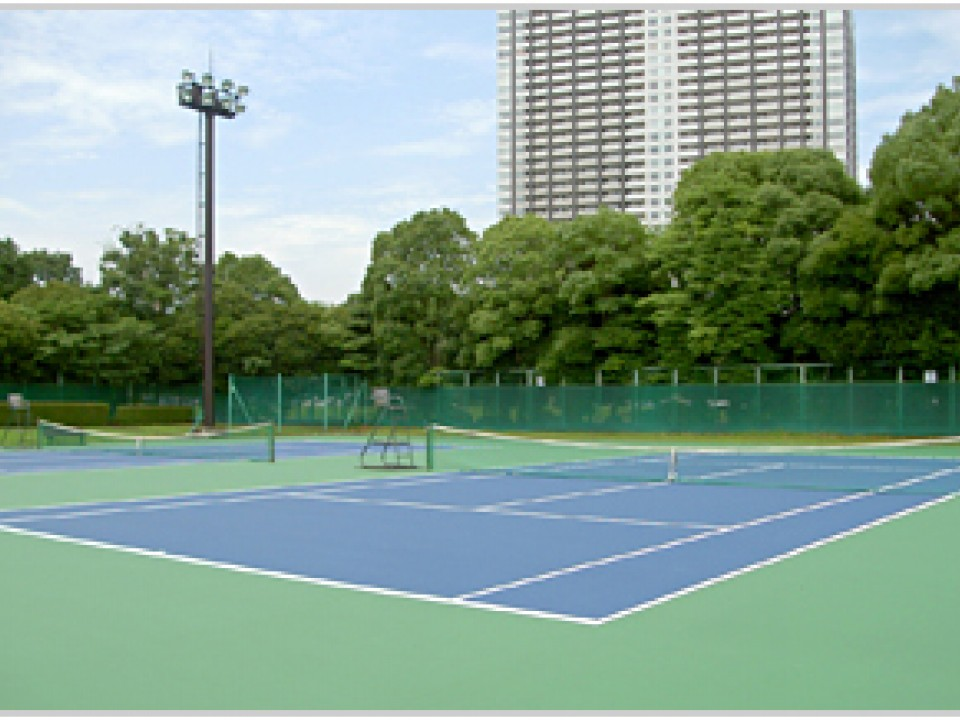Ariake Tennis no Mori in Ariake