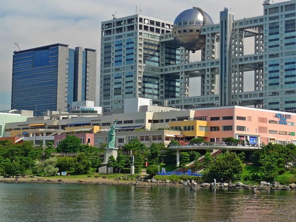 Fuji Television Headquarter Bldg@Odaiba