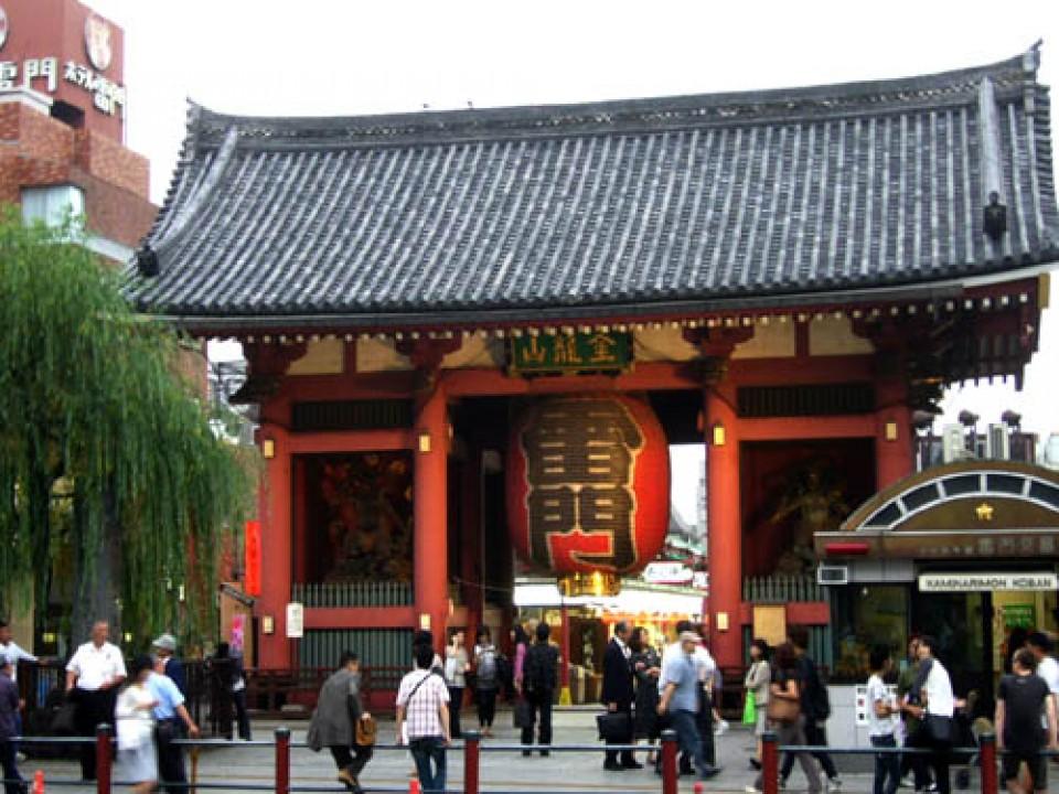 雷門(Kaminari-mon Gate)@Asakusa