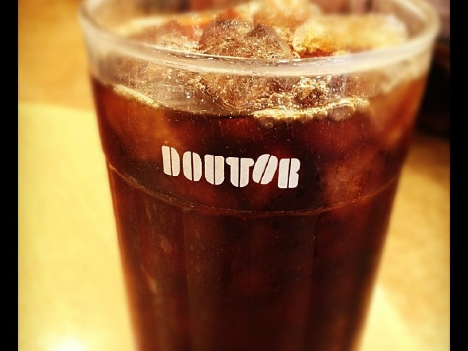 Iced Coffee at Doutor