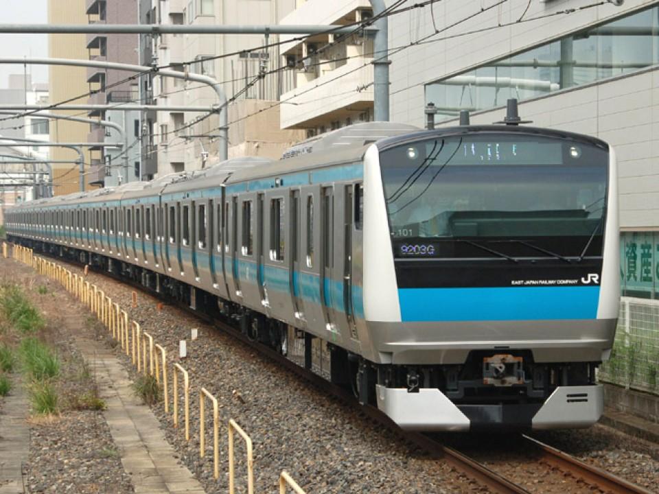The Keihin Tohoku Line