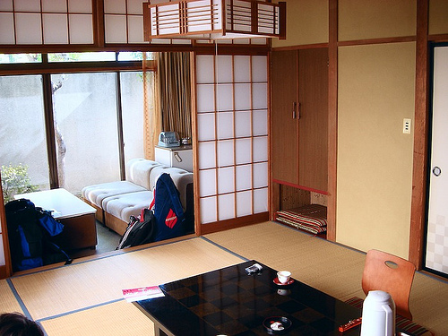 Stay in a japanese hotel without the extra costs deepjapan for Japanese apartment plans