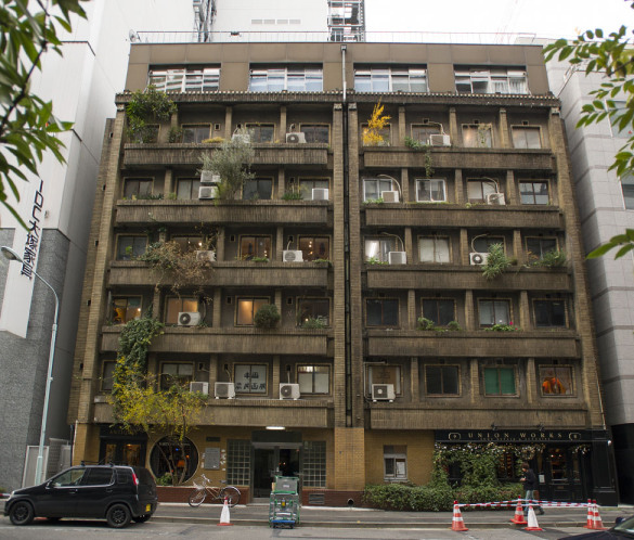 Where history meets art in one tokyo landmark deepjapan - The modern apartment in the old school ...