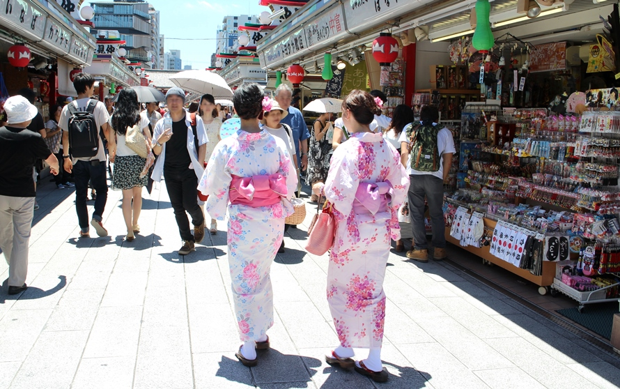 Image result for asakusa yukata shop