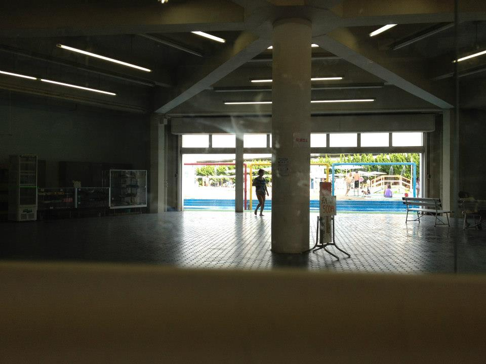 Entrance of Honmoku Community Pool