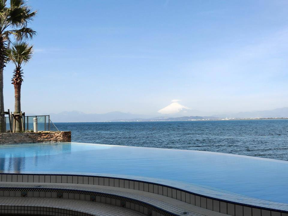 View from Enoshima Island Spa